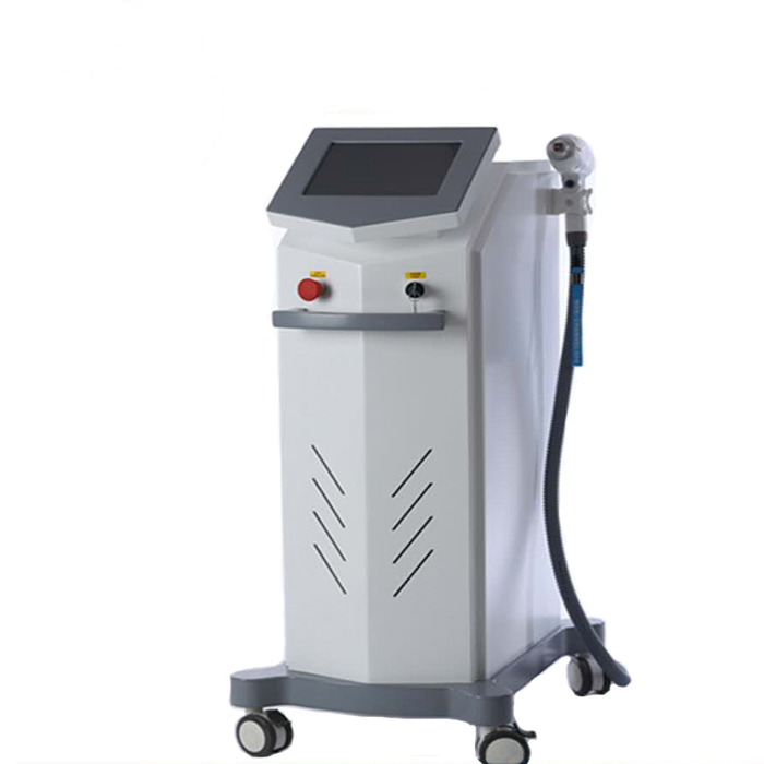Non Channel 808nm Diode Laser Hair Removal / Skin Rejuvenation Beauty Salon Equipment