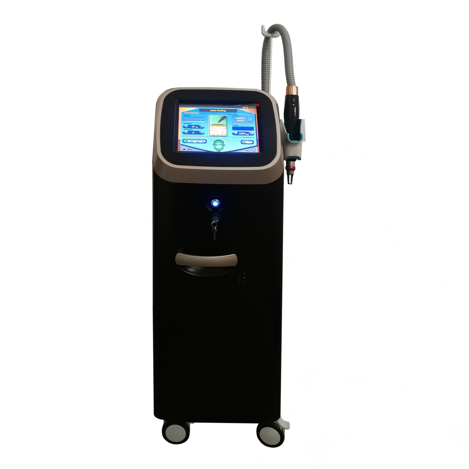 Professional Q Switch ND YAG Laser Beauty Salon Equipment Tattoo Removal Machine