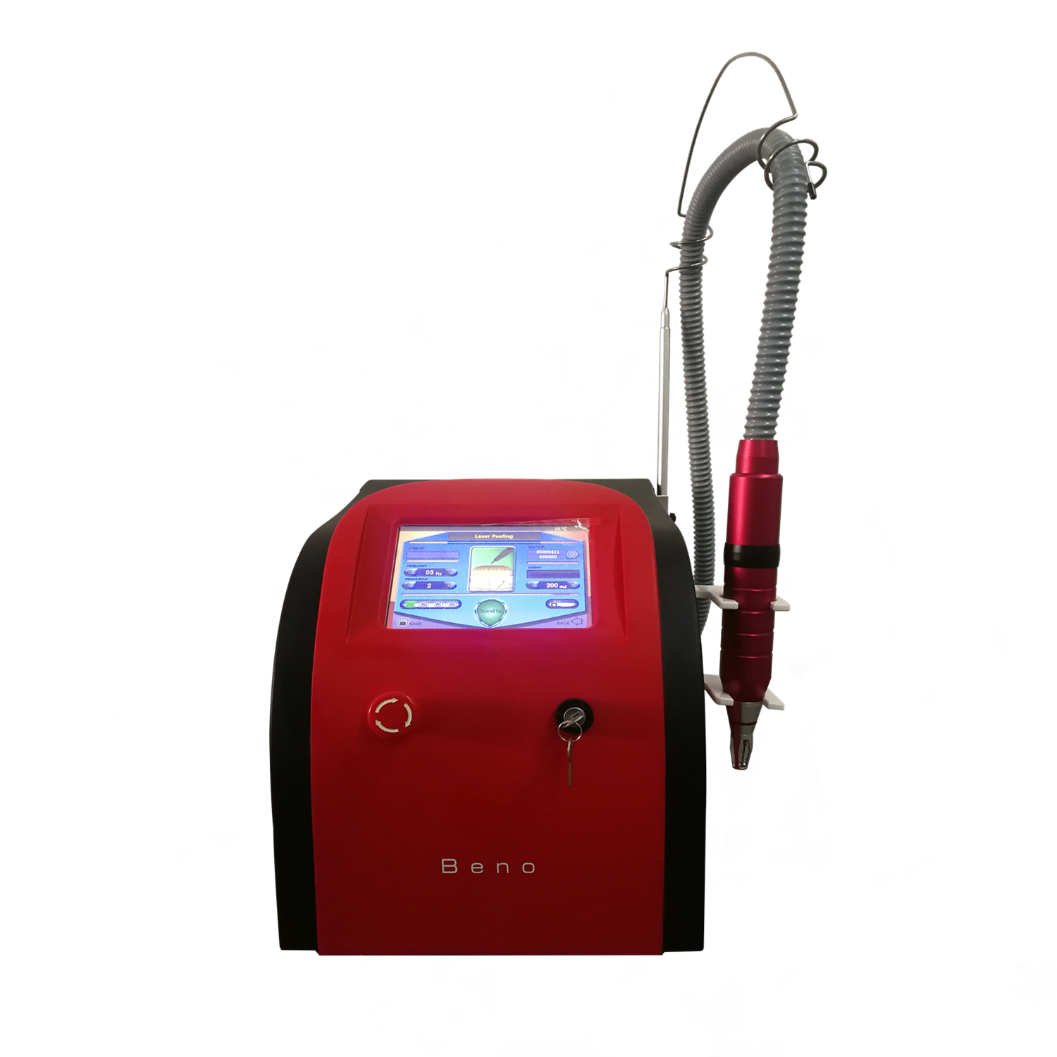 Hot Sale Portable Tattoo Removal Machine 1064nm 532nm Q Switch ND YAG Laser Equipment for Home and Salon Use