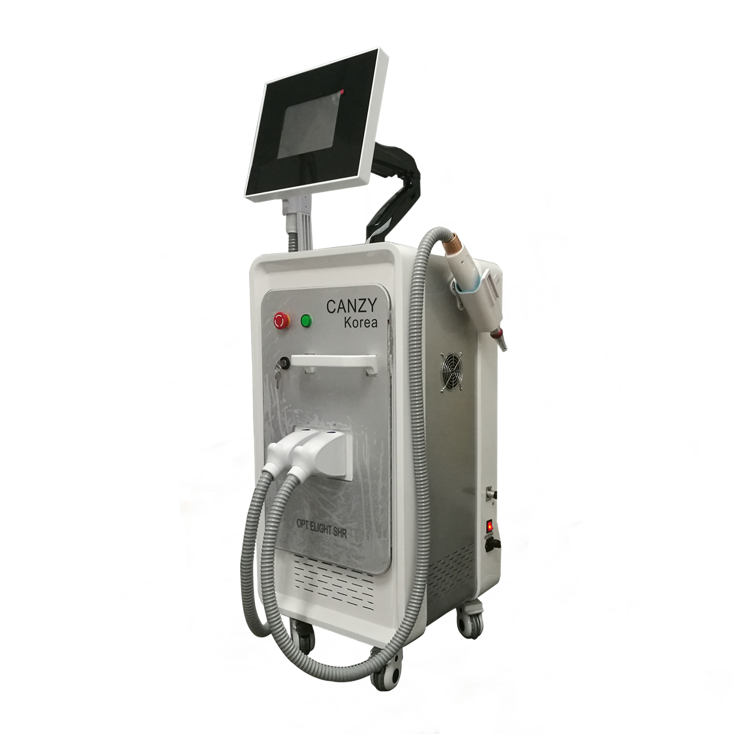 2,1 IPL - SHR Switch Nd YAG tatouage laser machine