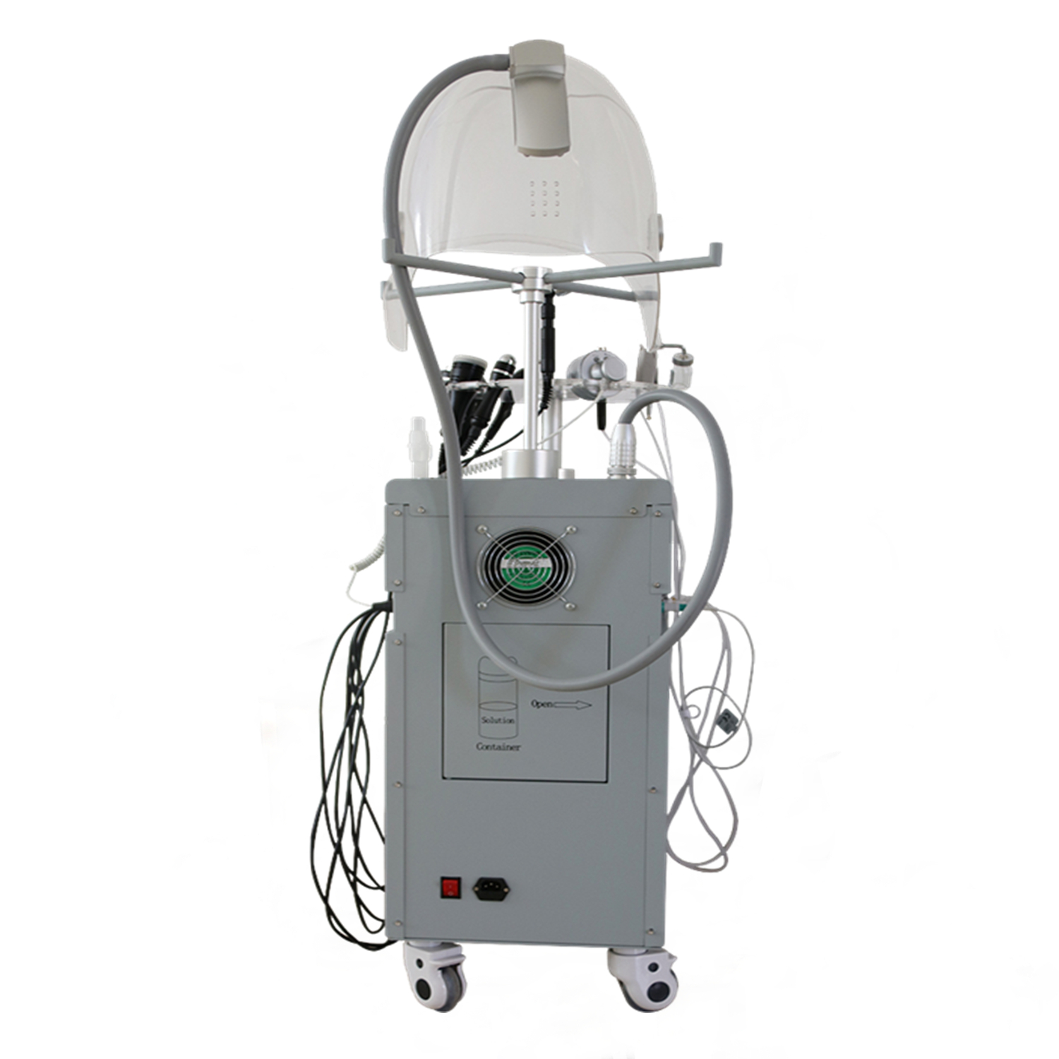 Hyperbaric Beauty Oxygen Facial Machine/Oxygen Inject Equipment Ce Approved