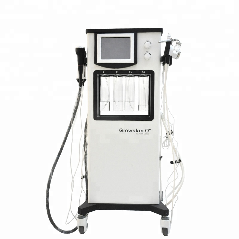 7 in 1 Glowskin O + Carbon Oxygen Skin Rejuvenation /Skin Whitening Beauty Salon Equipment