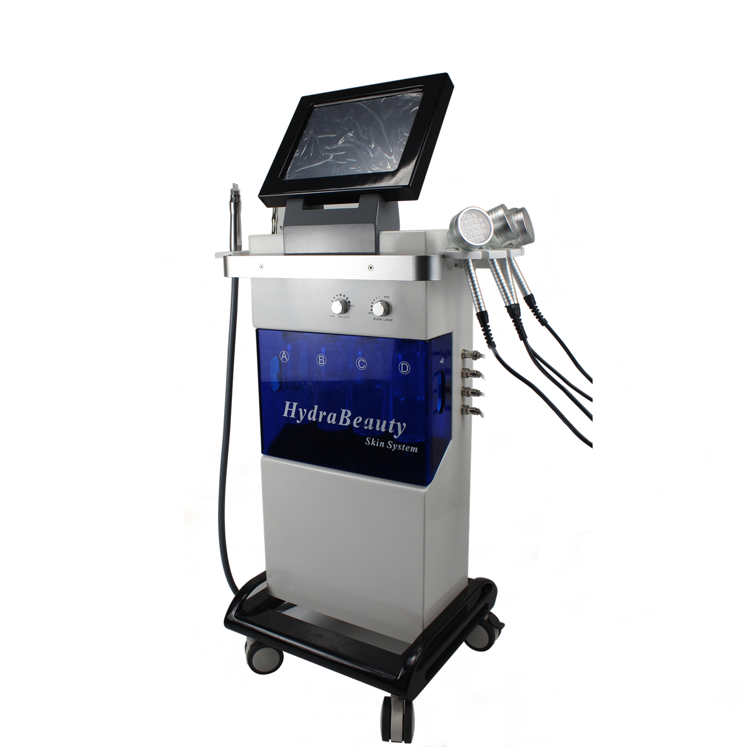 Hydrafacial Deep Cleaning Oxygen Jet peel Diamond Dermabridion Machine con PDT Light