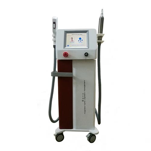 2 in 1 Pico Laser Freckle Removal 360 Magneto -Optic Shr Hair Removal Machine
