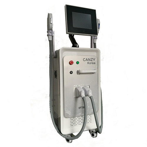 Professional 2 Handles Opt/Shr/IPL Painfree Permanent Hair Removal Machine for Sale
