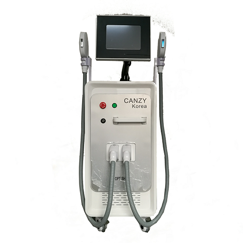 Professional 2 Griffe Opt /Shr /IPL Painfere Permanent Hair Removal Machine zum Verkauf