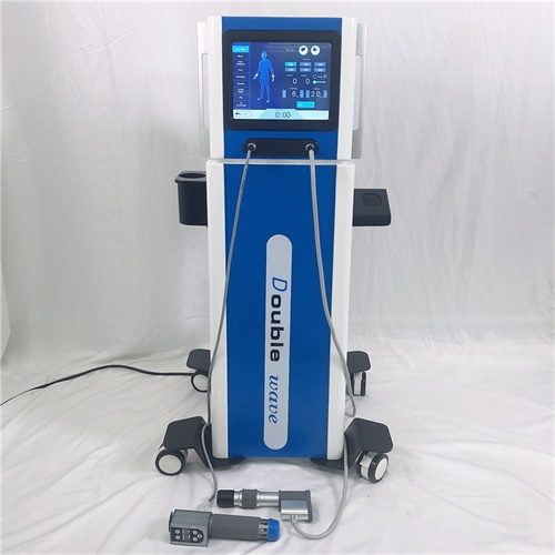 New arrival 2 in 1 Double wave Electromagnetic & Pneumatic Shockwave Machine with ED Treatment / Cellulite Reduction