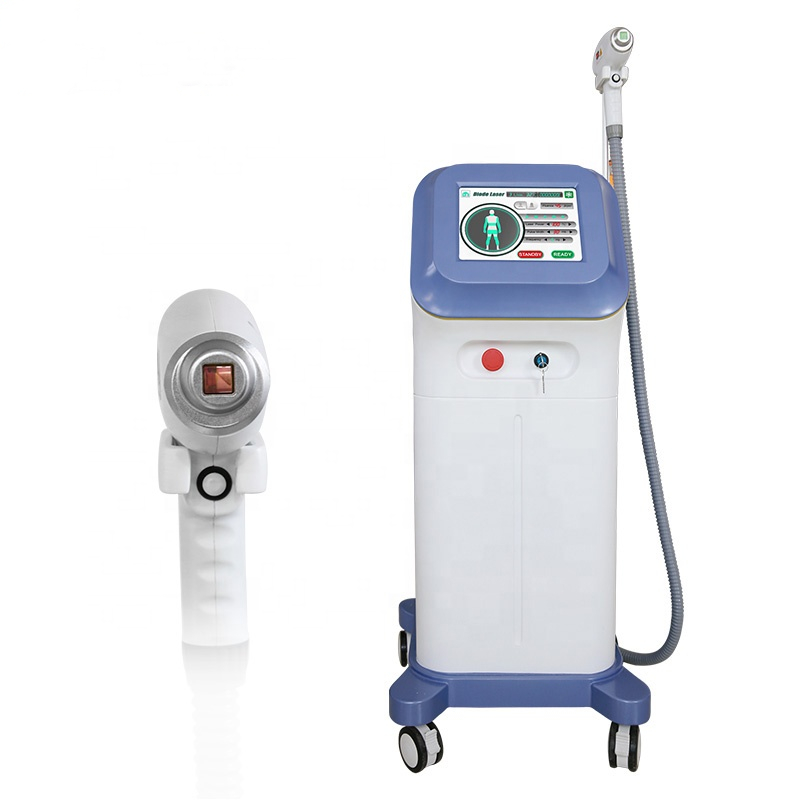 Professional Non-Channel 808nm Diode Laser Skin Care / Permanent Hair Removal Machine